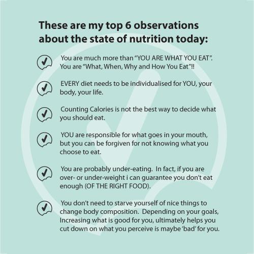 Top 6 observations